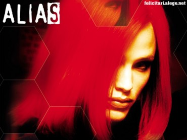 Alias girl with red hair