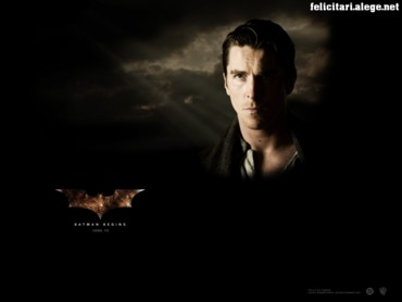 Batman begins man