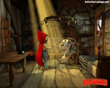 Hoodwinked red girl