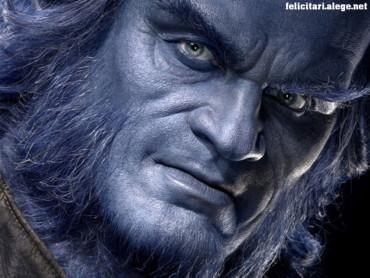 X-men Beast face