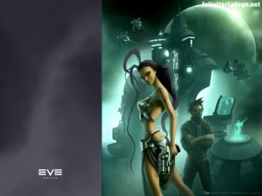 EVE online girl