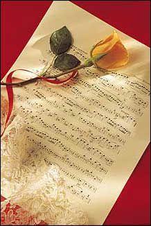 Trandafir Pe Note Muzicale