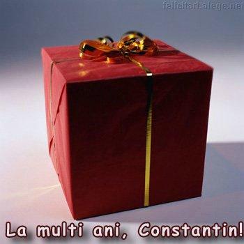 La Multi Ani Constantin