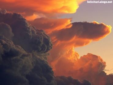 Cumulus at Sunset