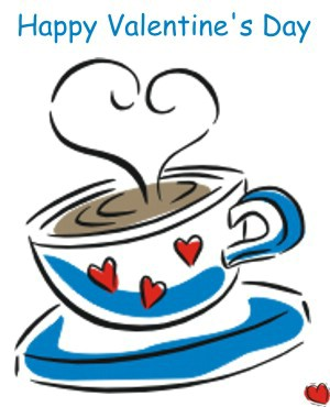 Happy Valentine`s Day! - Cafea