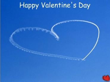 Happy Valentine`s Day! - Inima Pe Cer