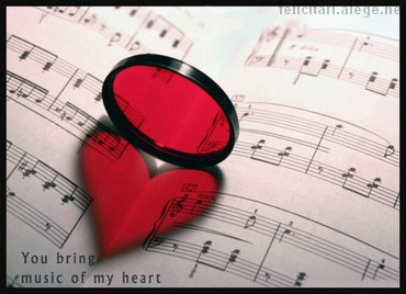 You Bring Music To My Heart
