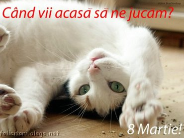 Cand Vii Acasa Sa Me Jucam - 8 Martie
