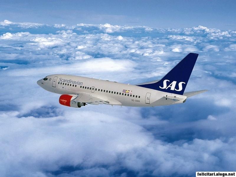 Boeing 737 Scandinavian Airlines Sas