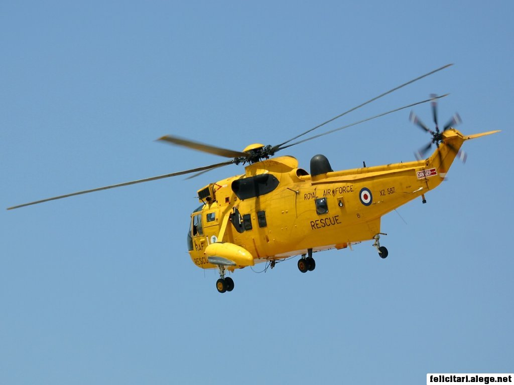 Sh3 Sea King Helicopter