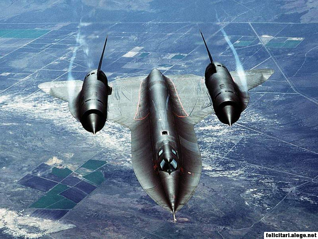 Sr71 Slicing Through The Air