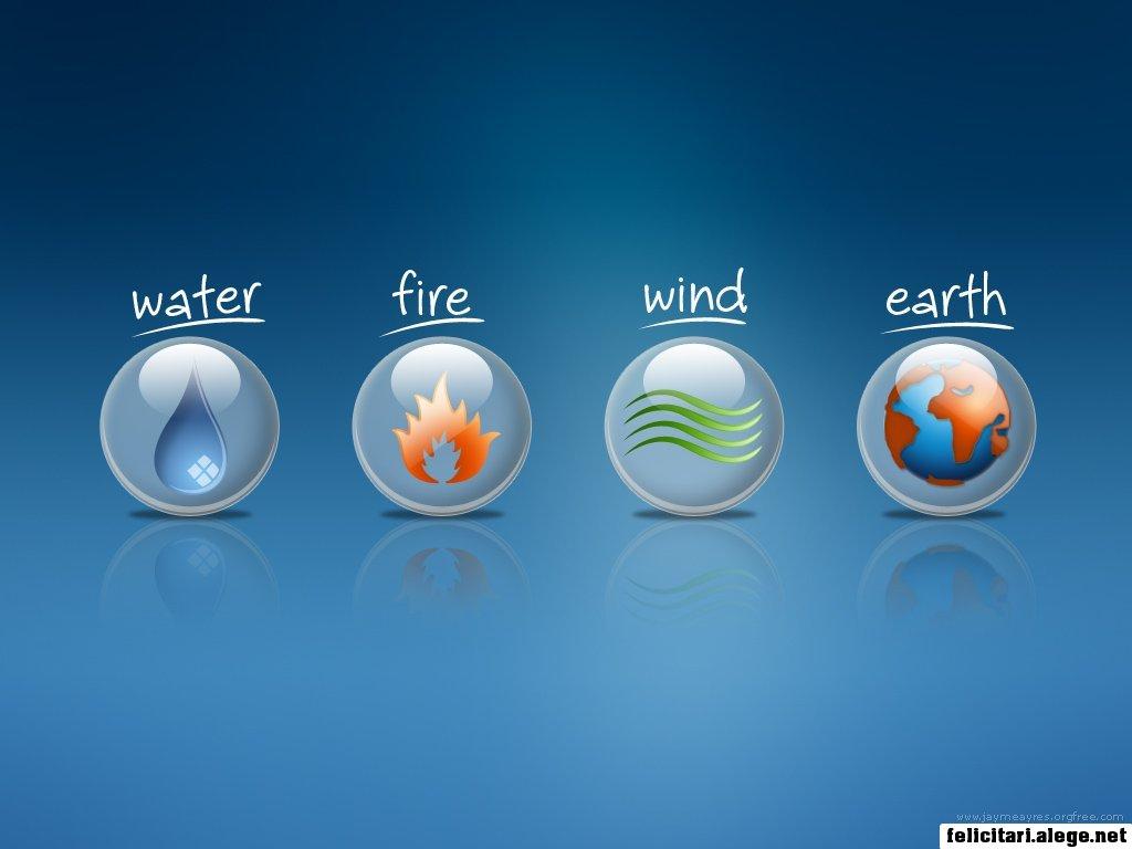 Water Fire Wind Earth
