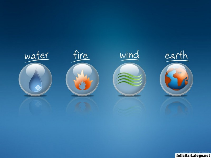 Water Fire Wind Earth