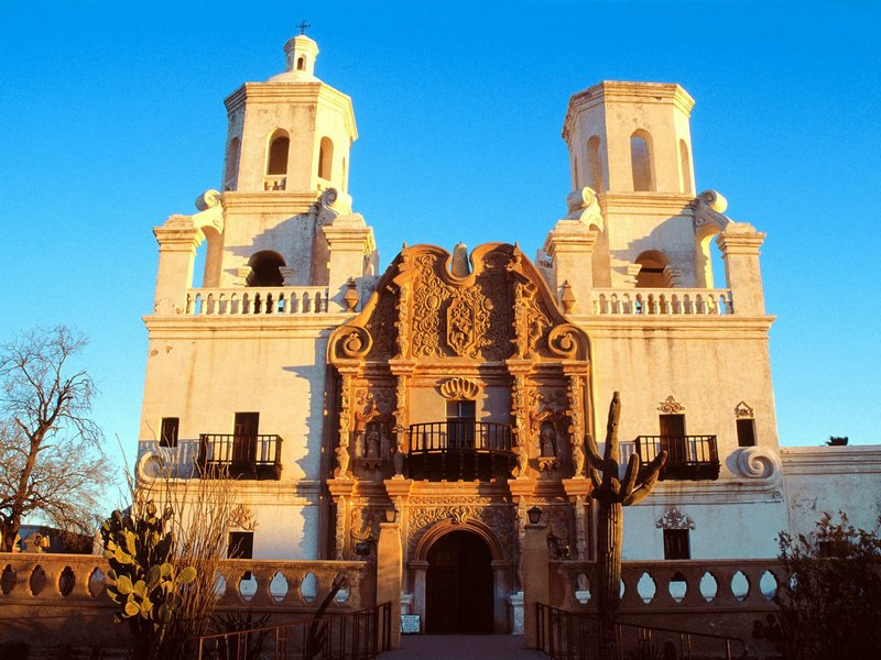 Mission San Xavier Del Bac Tucson Arizona