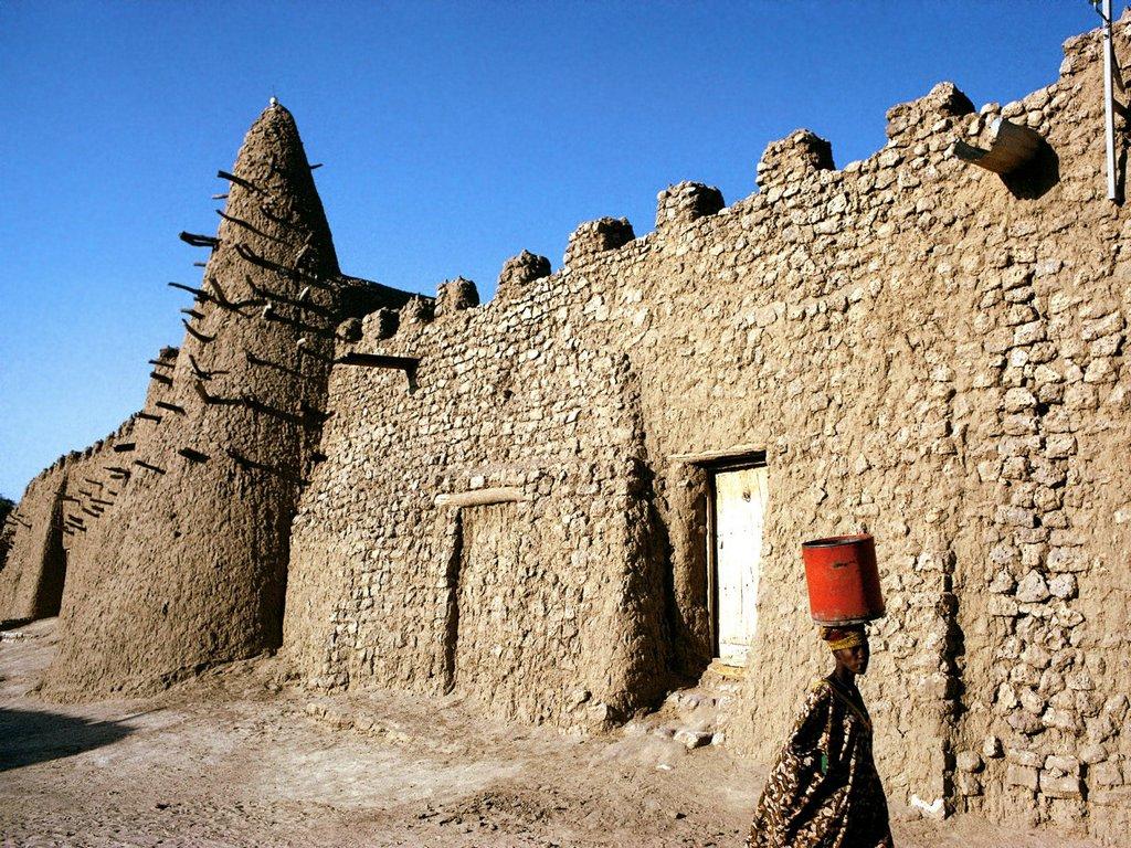 Mosque Timbuktu Mali Western Africa