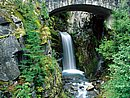 Christine Falls Mount Rainier National Park Washington