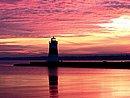 Erie Pierhead Lighthouse Erie Pennsylvania