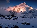 Mount Nuptse Himalaya Mountains Nepal