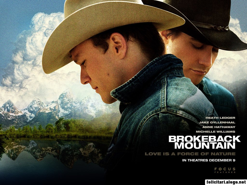 Brokeback Mountain 2005 Jake Gyllenhaal Heath Ledger