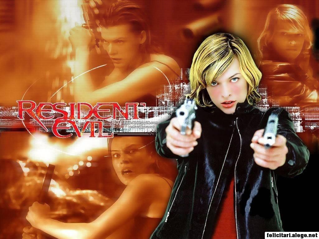 Resident Evil 2002 Milla Jovovich Michelle Rodriguez
