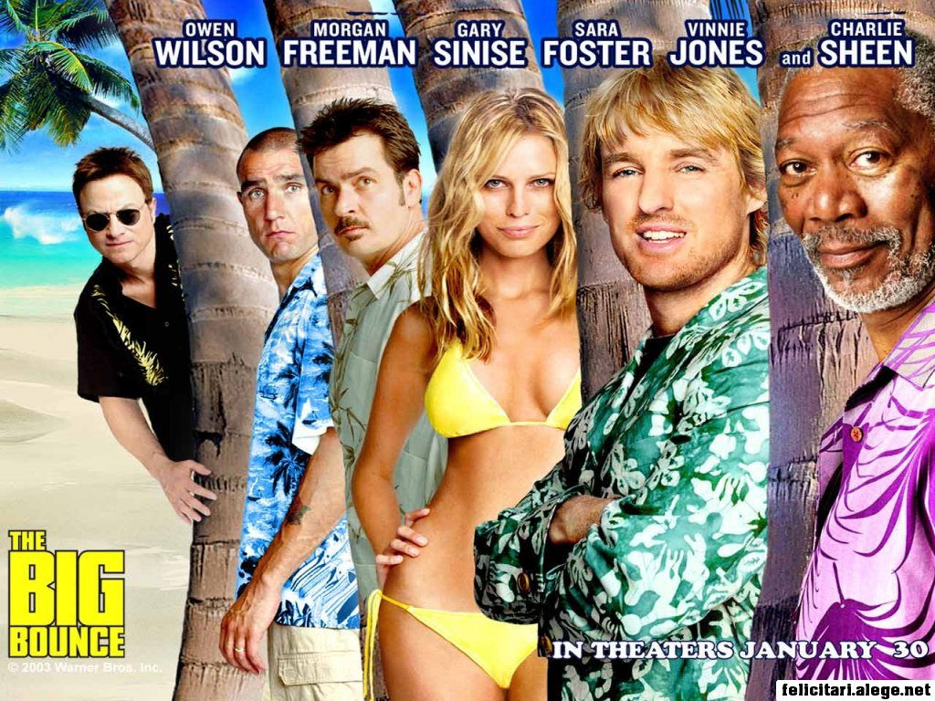 The Big Bounce 2004 Owen Wilson Charlie Sheen Morgan Freeman Sara Foster