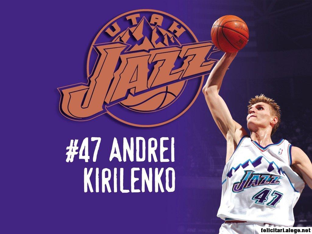 Andrei Kirilenko Forward Utah Jazz Nba Basketball