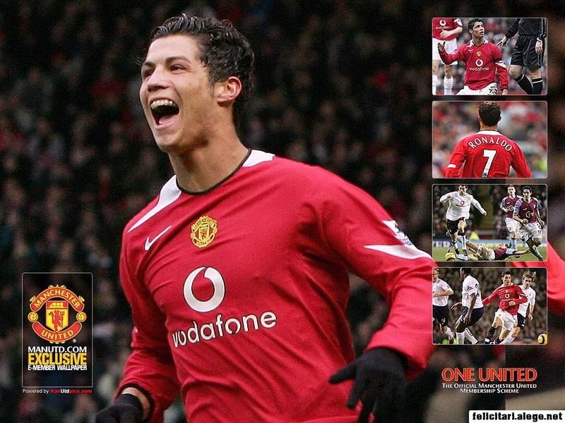 Cristiano Ronaldo Manchester United Portugal Football Soccer