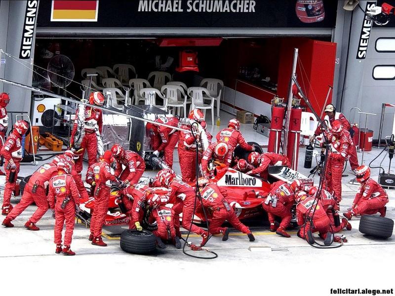 Ferrari F1 Racing Team Michael Schumacher