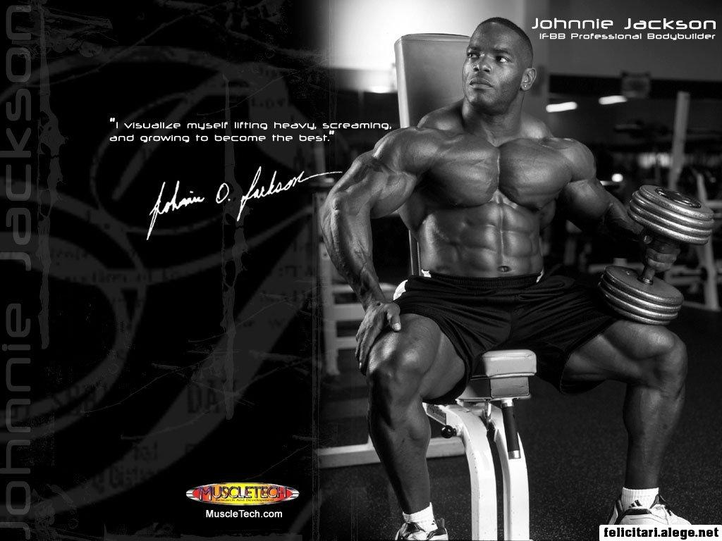 Johnnie Otis Jackson Ifbb Professional Bodybuilder