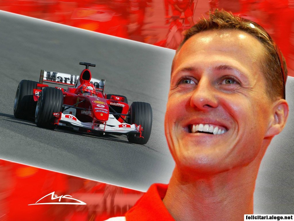 Michael Schumacher Formula 1 Racing