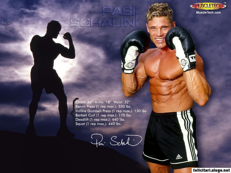 Pasi Schalin Fitness Model And Actor