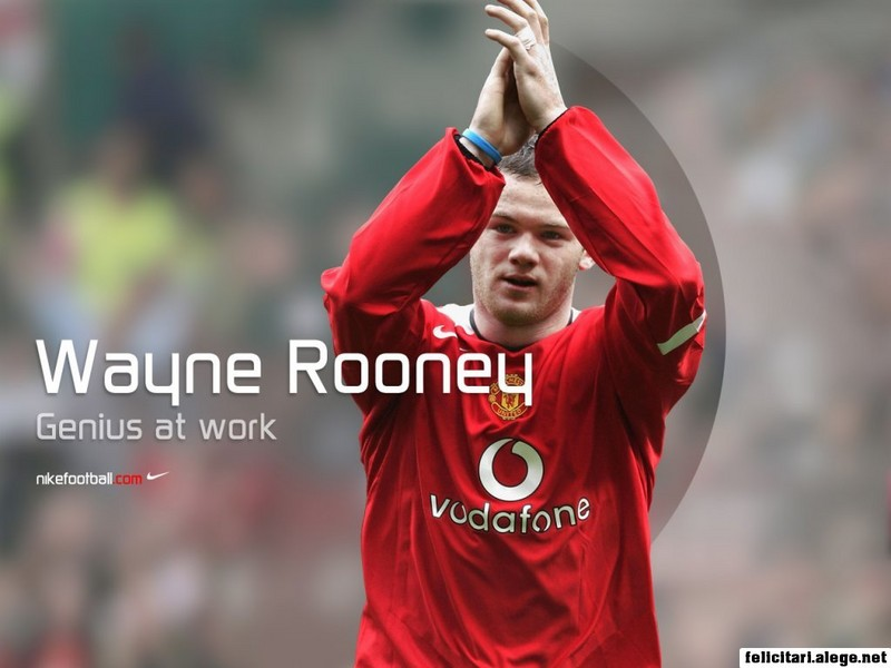 Wayne Rooney Manchester United Fc England Football