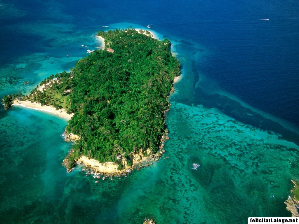 Cayo Levantado Bacardi Island Samana Peninsula Dominican Republic