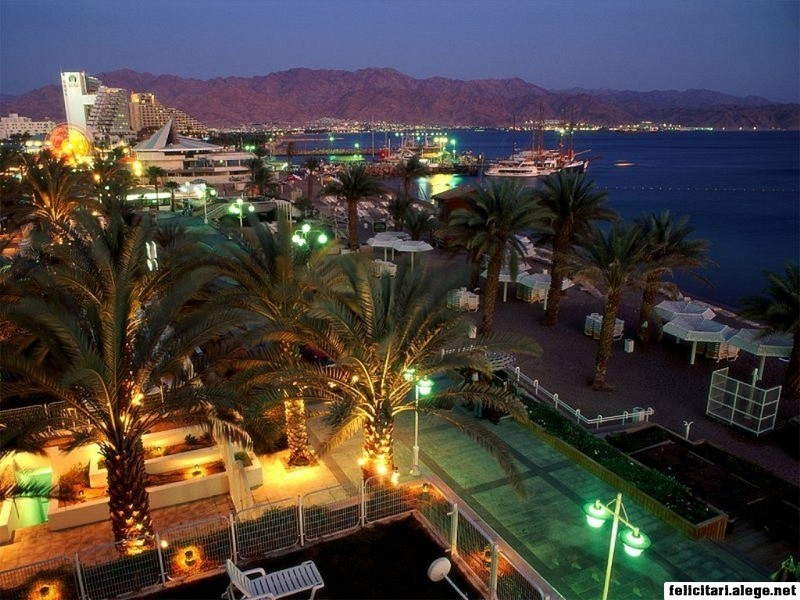 Early Evening Eilat Israel