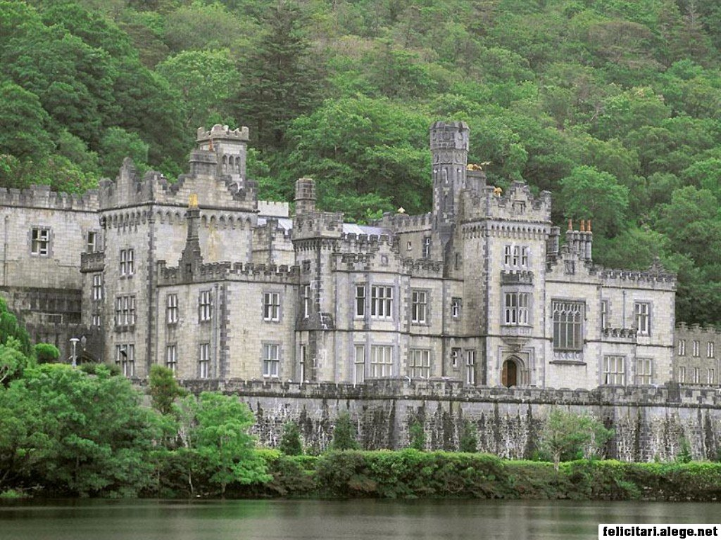Kylemore Abbey Connemara County Galway Ireland