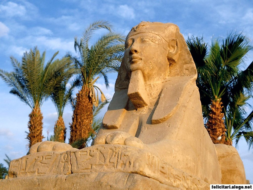 The Sphinx Luxor Egypt